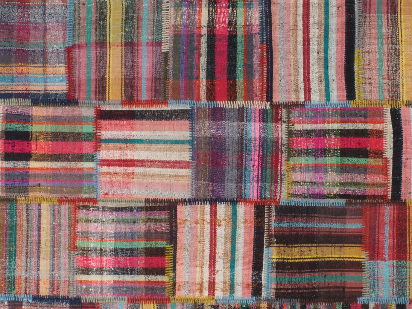 Zakatala tapis patchwork