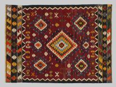 A1709128  KILIM FIL ANCIEN  253 cm x 188 cm