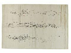 A190214  Knotted  hemp rug  245 cm x 168 cm