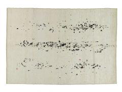 A19024  Knotted  hemp rug  242 cm x 169 cm