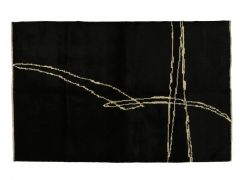 A190630  Knotted  goat hair rug  257 cm x 167 cm