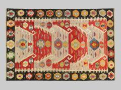 A2012295  Kilim fils anciens  267 cm x 176 cm