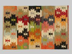 A2012444  Kilim with old yarns  194 cm x 128 cm