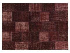 A210137  Patchwork rug  201 cm x 142 cm