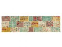 A210144  Patchwork rug  303 cm x 81 cm