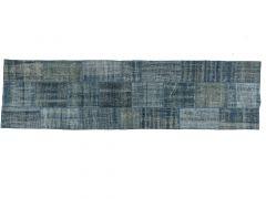 A210147  Patchwork rug  303 cm x 82 cm