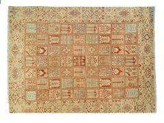 A2102250  Vintage rug oversize  357 cm x 264 cm