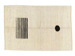 A210439  Tapis en chanvre  250 cm x 170 cm