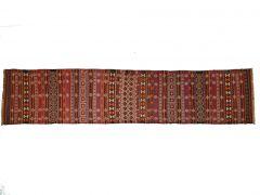 AP210348  Kilim Qala-i-now couloir  348 cm x 73 cm