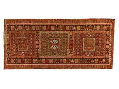 AT200956  Kilim SARIZ  342 cm x 157 cm