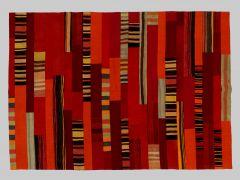 A180219  Patchwork kilim  246 cm x 171 cm