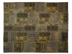 A1112841  Monochromic patchwork rug  297 cm x 233 cm